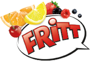 FRITT – Kau Spaß! Kau Streifen! Logo