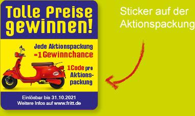 Aktionspackung Sticker: Tolle Preise gewinnen
