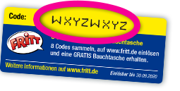 Sammelaktion Code Sticker